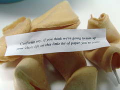 Funny fortune cookie | by dougbelshaw