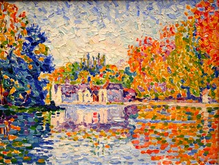 Painting of the Seine by Paul Signac | by Alaskan Dude