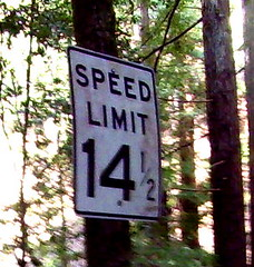 Speed Limit 14.5 MPH | by Richard Masoner / Cyclelicious
