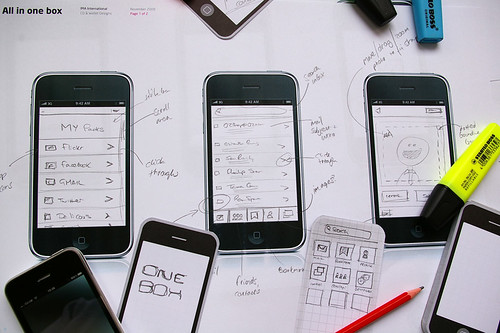 iPhone app concepts | by martynreding