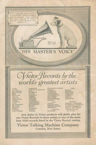 Victor Talking Machine Company: | by painting in light