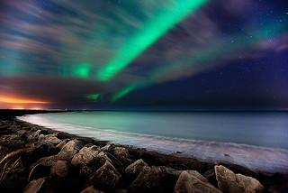 Aurora Beach | by Kiddi Kristjans