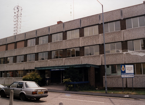 063349:Police Station Clifford Street Byker Maybury Malcolm 1996