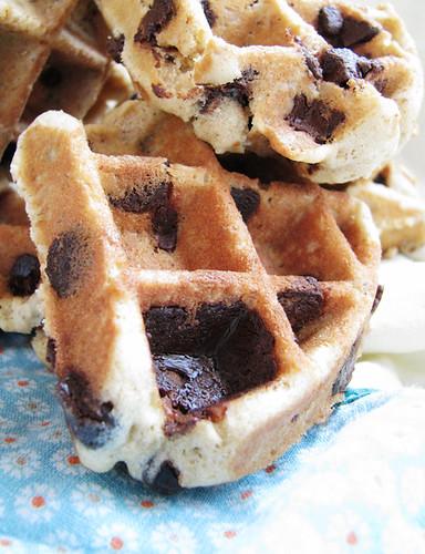 ... Oatmeal-chocolate chip waffle cookies!)   by ♥rosemadeleine.com
