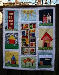 It's done! Community Gardens | by katie@swimbikequilt