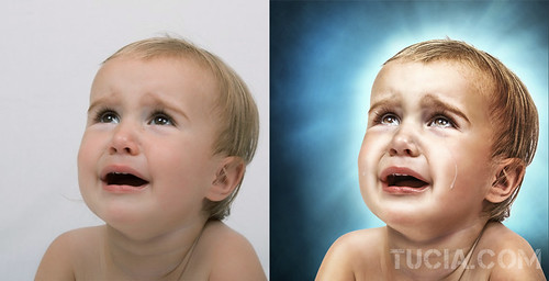 Baby Crying Portrait HDR by Tucia | by Tucia