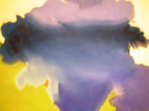 Helen Frankenthaler 1963 'The Bay', Institute of Arts, Detroit, Michigan | by hanneorla