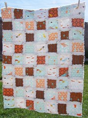 The Under the Sea Adventures Baby Rag Quilt | by LaDolceBoutique