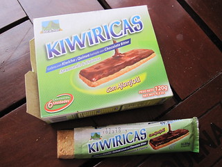 Kiwiricas - Quinoa and Amaranth Bars | by veganbackpacker