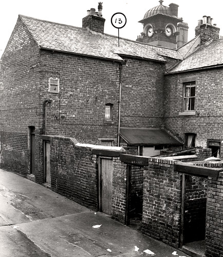 035726:Rear of Thornborough Street/Headlam Street, Byker, Dept of Environmental Health 1962