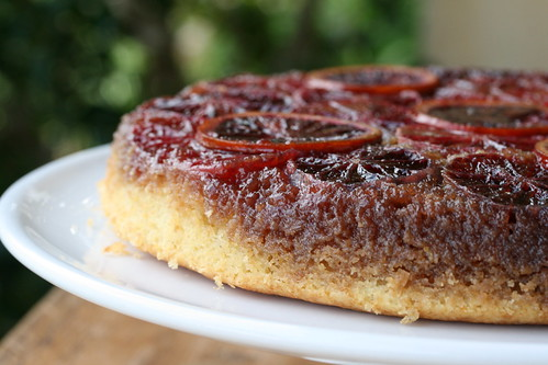 Blood Orange and Cardamom Upside-Down Cake | by Food Librarian