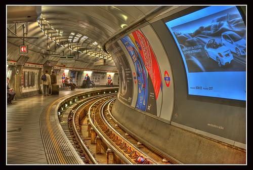 Bank Underground Subway