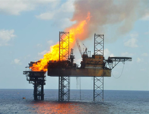 Montara Oil Platform Fire - November 1, 2009 | by SkyTruth