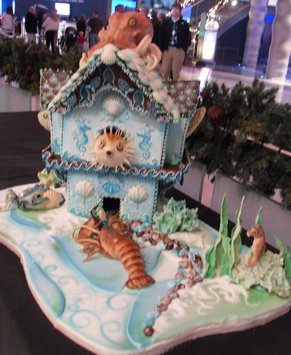 Undersea Gingerbread House 2 | by Karen Portaleo