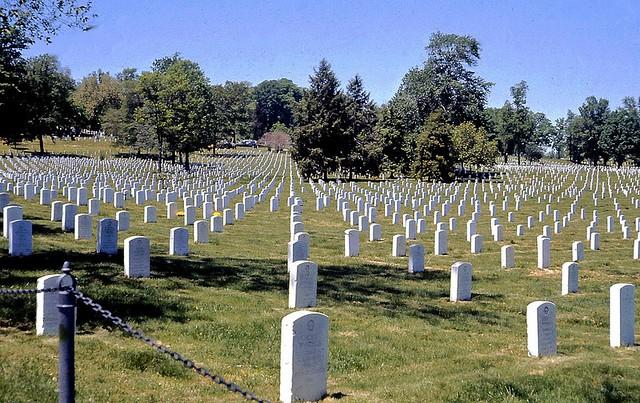 Christmas Sacrificed, Arlington National Cemetery 1972 E