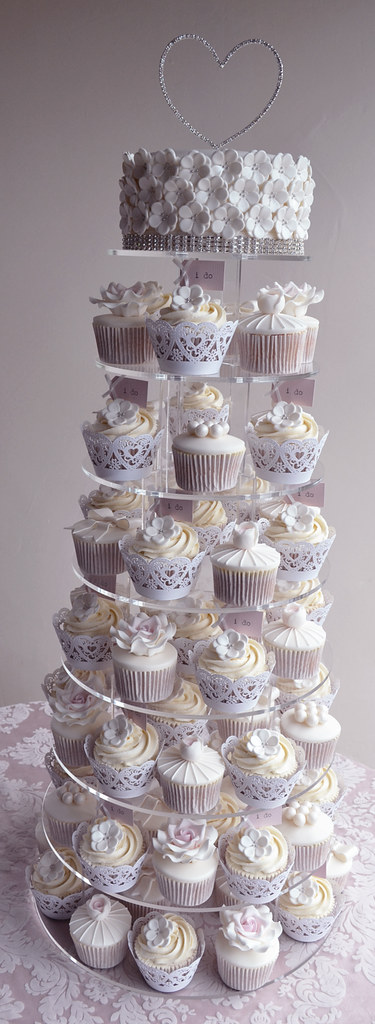 wedding cake cupcake pan paper cakes flickr 8603