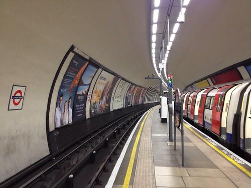Clapham North Underground station