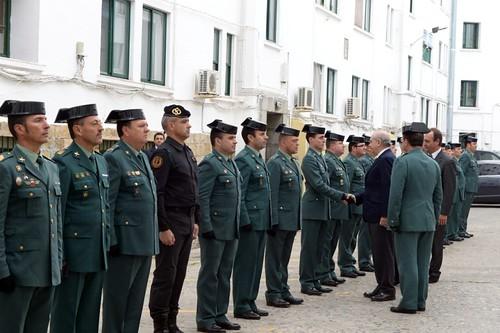 El ministro del interior se re ne con los mandos de la gua for Ministerio del interior guardia civil
