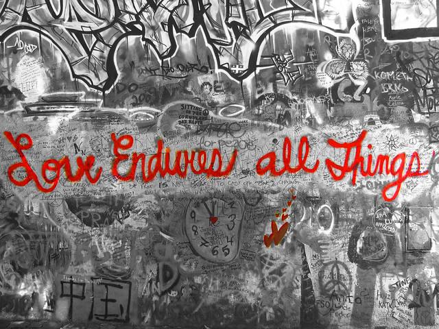 Love Endures - Lennon Wall (2010)