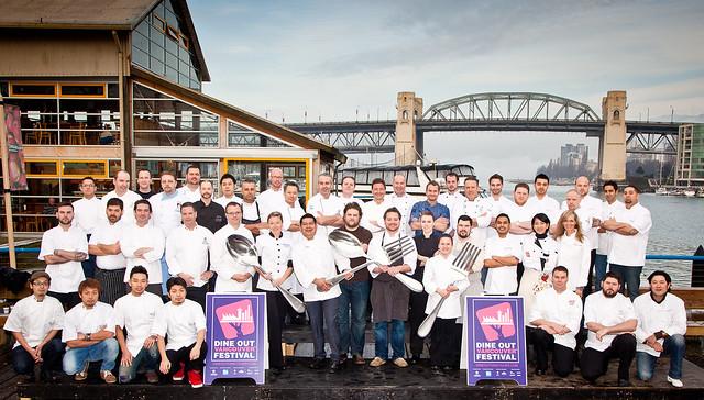 DOVF 2013 Chefs