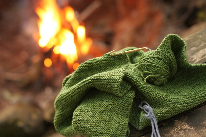 KCCO - campfire knitting