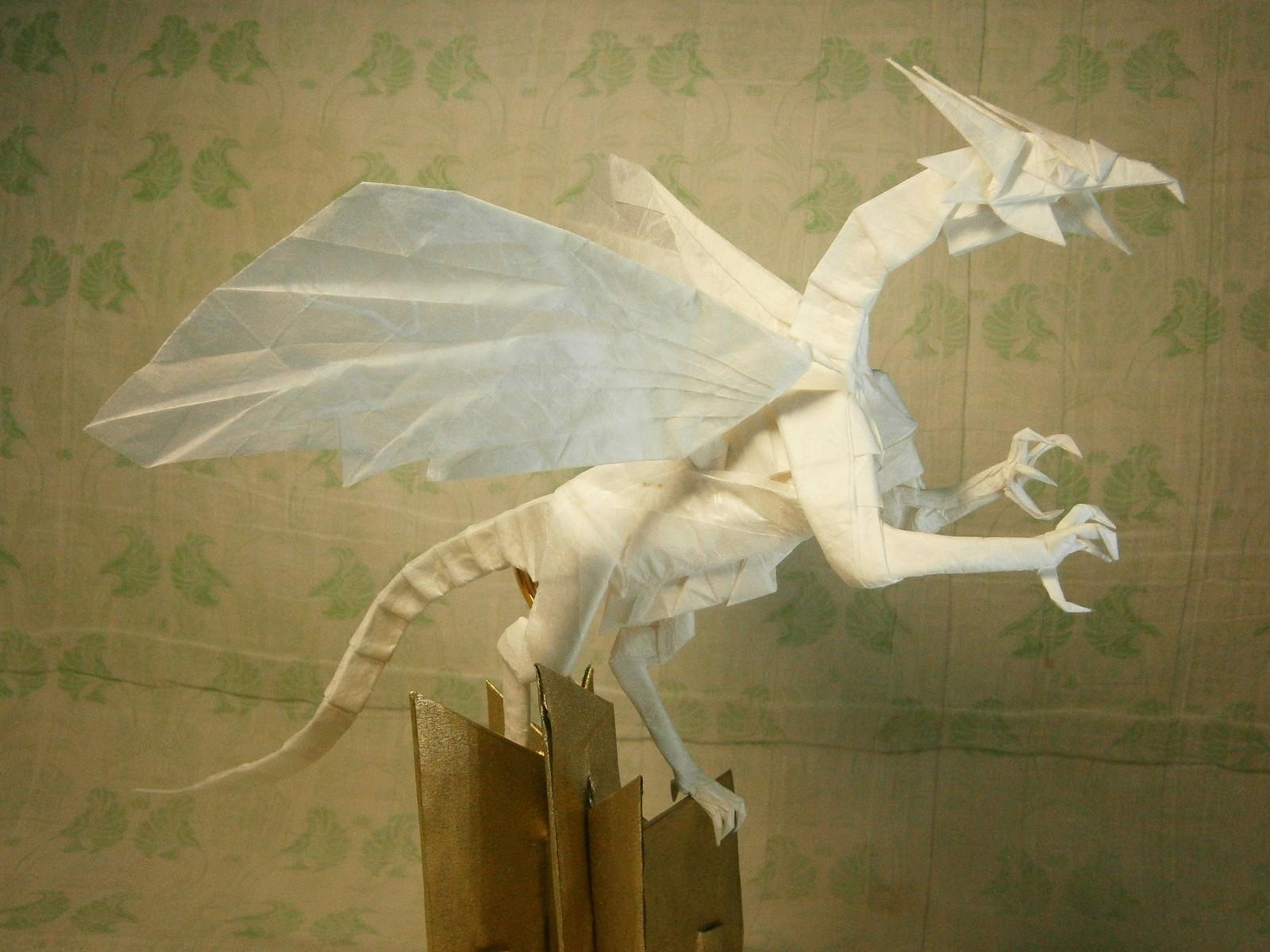 luster dragon 90*90cm