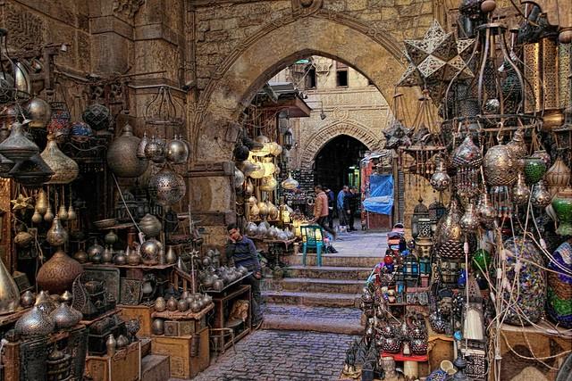 Khan El Khalily, Cairo, Egypt