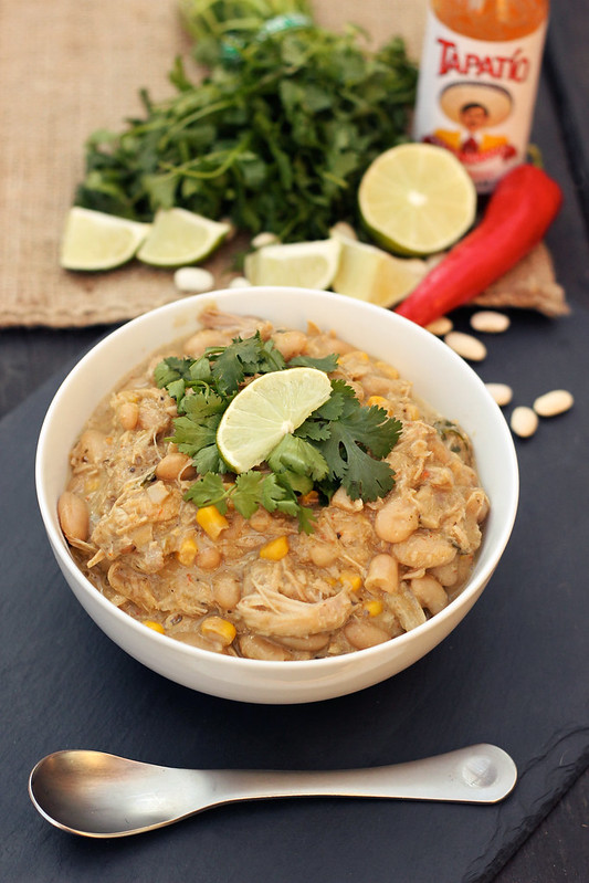 Chicken and White Bean Chili - (Gluten-free + Dairy-free)