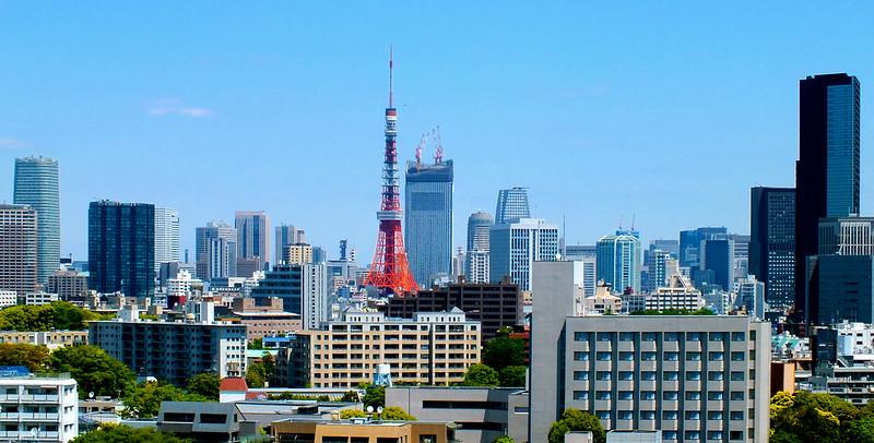Une vue imprenable sur la tour de Tokyo