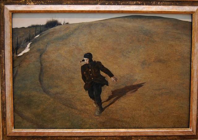 Winter 1946 - Andrew Wyeth - American (1917 - 2009)