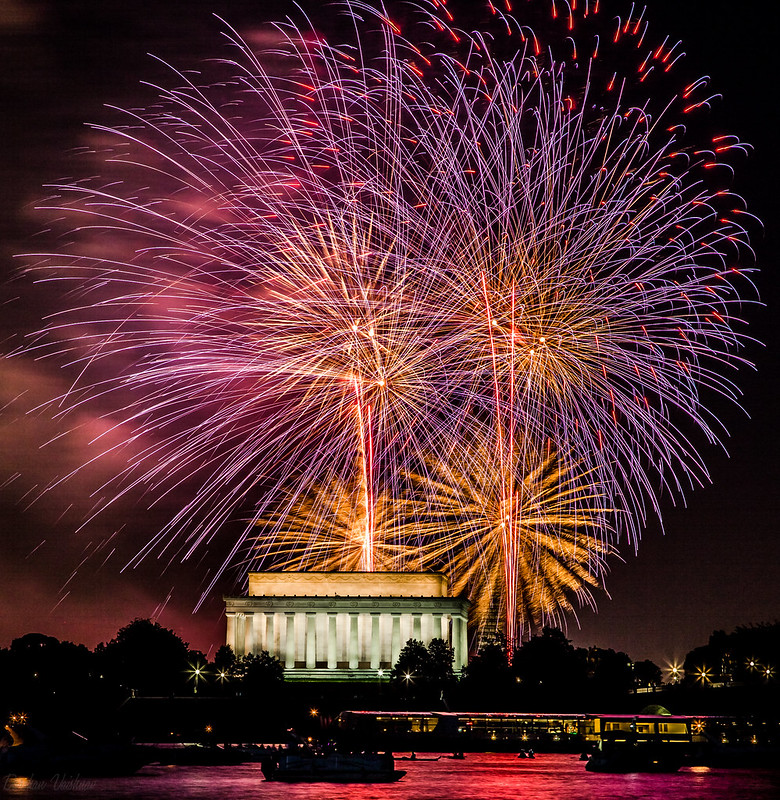 4th of July fireworks. Photo: Darshan Vaishnav, CC.