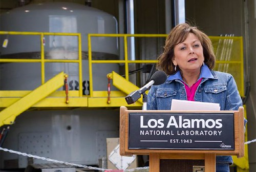 Governor Susana Martinez visits RANT