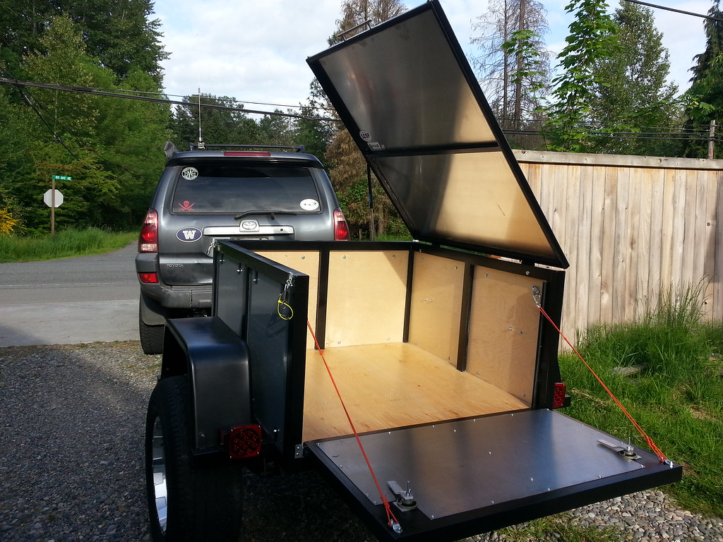 Jeepforum Com Mini Harbor Freight Type Trailer