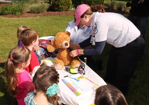 Life Lion EMS teddy bear clinic | by Penn State Hershey