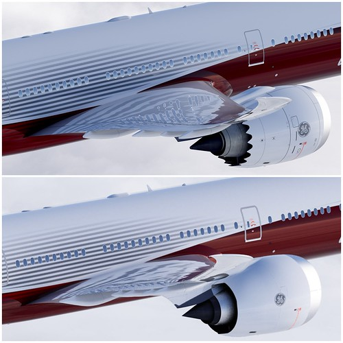 boeing 777x wing and engine configuration changes flickr photo sharing. Black Bedroom Furniture Sets. Home Design Ideas