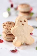 Gingerbread Men Macarons | by tartelette