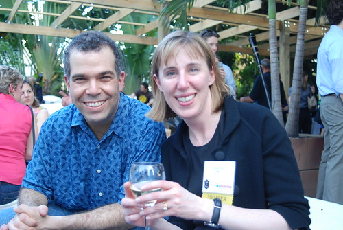 Mark Condell & Liana Frey at the Networking Event at Big Fish During WOMMA's WOMM-U | by storyspinn