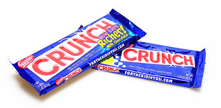 Old Crunch bar versus Now Even Richer Crunch Bar | by cybele-