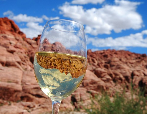 The Wine Glass Travels to Red Rock Canyon | by merriewells