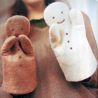 small articles made of wool felt for baby | by feltcafe