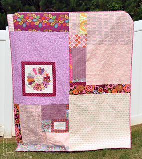Twin Dresden Quilt - back | by LRstitched