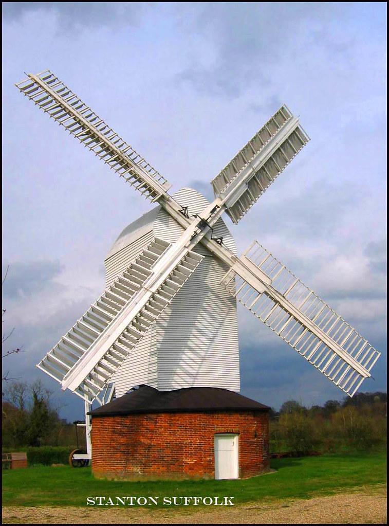 STANTON Windmill SUFFOLK
