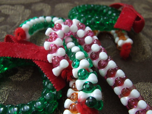 Tri bead ornaments