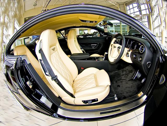 Bentley Taken at The Bentley Showroom Geldard Rd Leeds