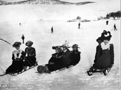 Ladies' toboggan race | by Powerhouse Museum Collection