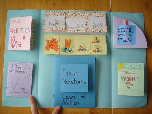 Forces and Motion Lapbook inside | First unit (about four ...