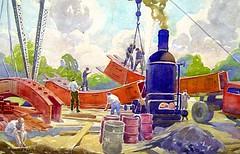 WPA Artwork (color photos)