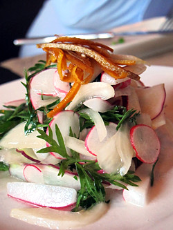 radish salad | by David Lebovitz