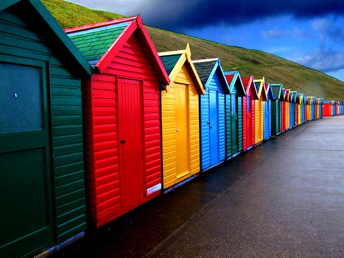Colour in the rain | by Tony Shertila