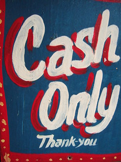 Cash Only Thank-you | by a free hour
